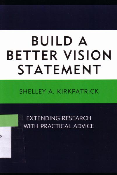 Build a better vision statemen..