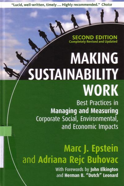 Making sustainability work : b..