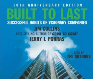 Cover of Built to last : successful habits of visionary companies