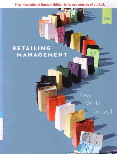 Cover of Retailing management