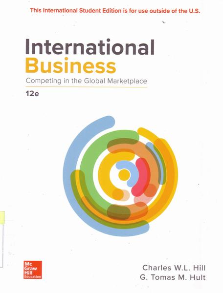 Cover of International business competing in the global marketplace