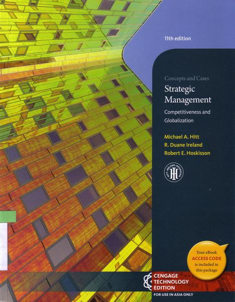 Cover of Strategic management : competitiveness and globalization concepts and cases