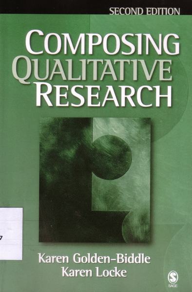 Cover of Composing qualitative research