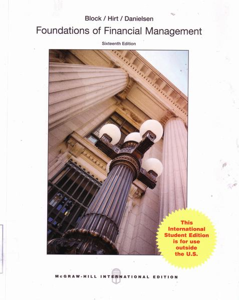Cover of Foundations of financial management