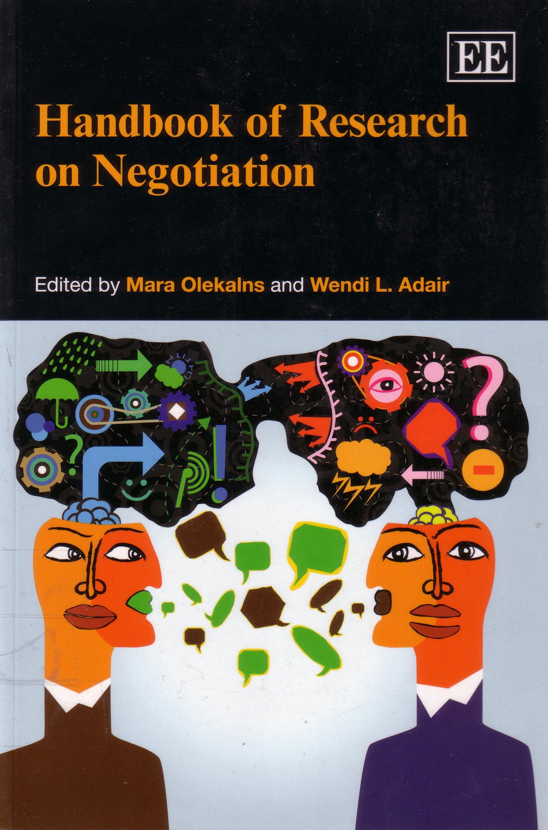 Cover of Handbook of research on negotiation